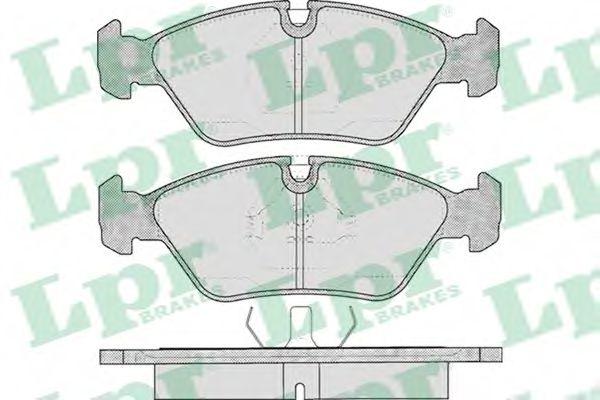 Тормозные колодки  арт. 05P237