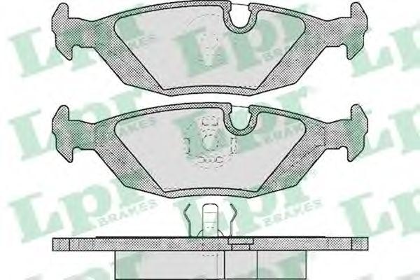 Тормозные колодки дисковые  арт. 05P238