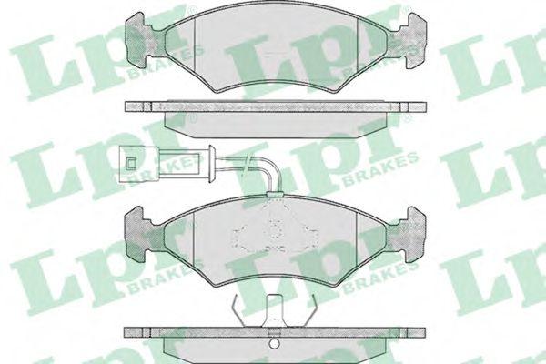 SF2300 Тормозные колодки  арт. 05P242
