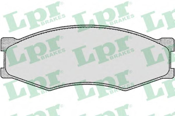 SF2438 Тормозные колодки LPR 05P264