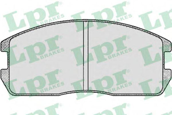 Тормозные колодки дисковые  арт. 05P265