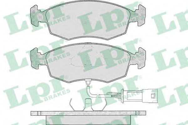 SF2393 Тормозные колодки  арт. 05P269