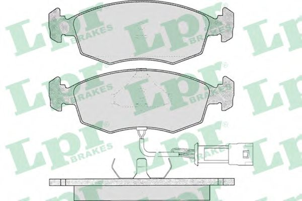 SF2393 Тормозные колодки LPR 05P269