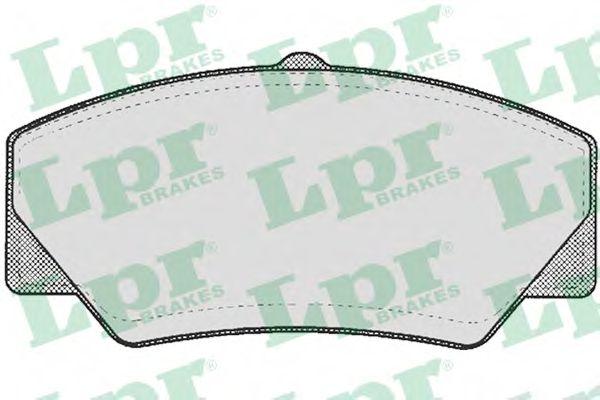 SF2398 Тормозные колодки  арт. 05P277