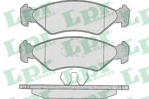 05P295  LPR - Гальмівні колодки до дисків (F, S)  арт. 05P295