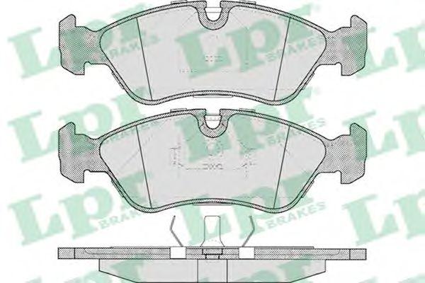 Brake pad set LPR 05P304