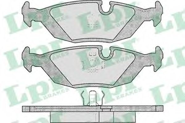 SF2588 Тормозные колодки  арт. 05P306