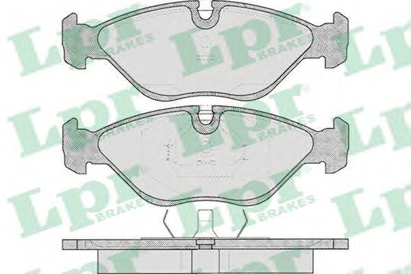 Тормозные колодки дисковые  арт. 05P310
