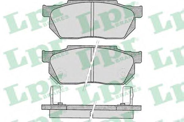 SF2423 Тормозные колодки  арт. 05P322