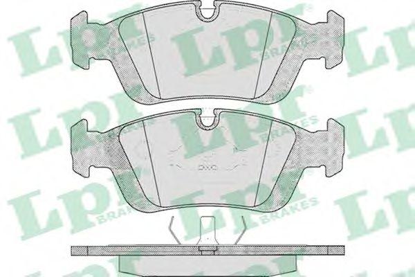 Колодки гальмівні дискові передні, комплект  арт. 05P331