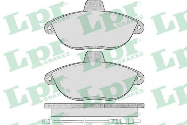 Тормозные колодки дисковые  арт. 05P346