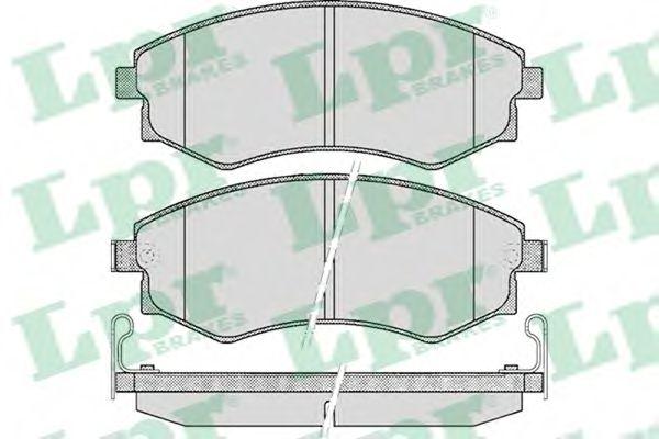 05P348  LPR - Гальмівні колодки до дисків (F, з датчиком)  арт. 05P348