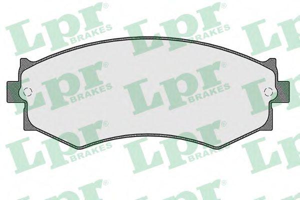 Тормозные колодки дисковые  арт. 05P352