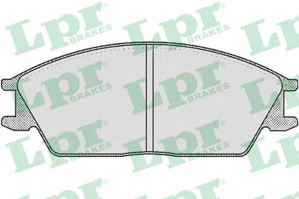 05P364  LPR - Гальмівні колодки до дисків (F, V)  арт. 05P364