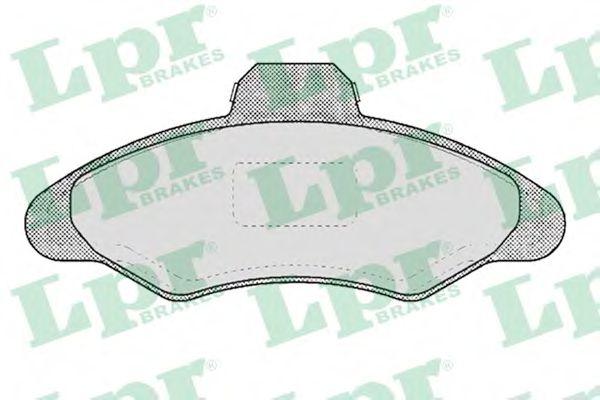 SF2623 Тормозные колодки  арт. 05P383