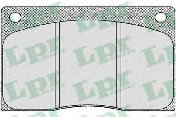 Тормозные колодки дисковые  арт. 05P386