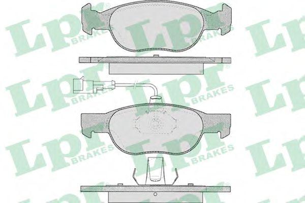 Тормозные колодки дисковые  арт. 05P424