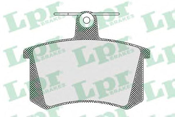 05P440  LPR - Гальмівні колодки до дисків (R)  арт. 05P440