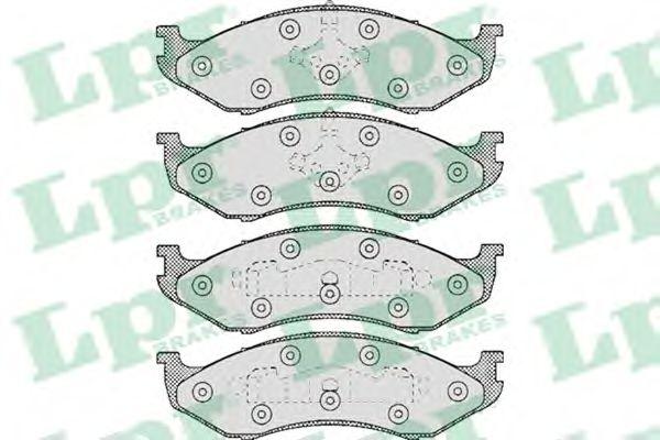 SF2643 Тормозные колодки  арт. 05P459