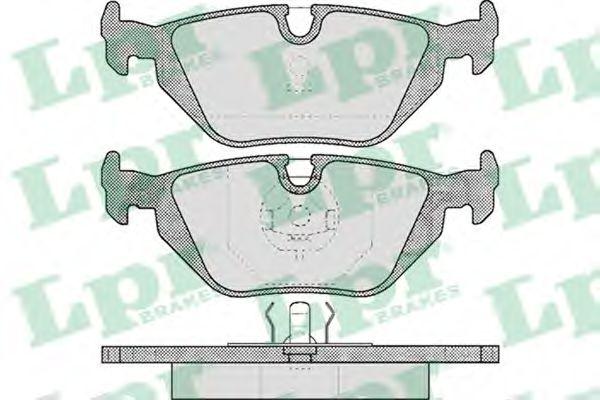 Тормозные колодки  арт. 05P463