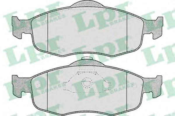 SF2700 Тормозные колодки  арт. 05P471