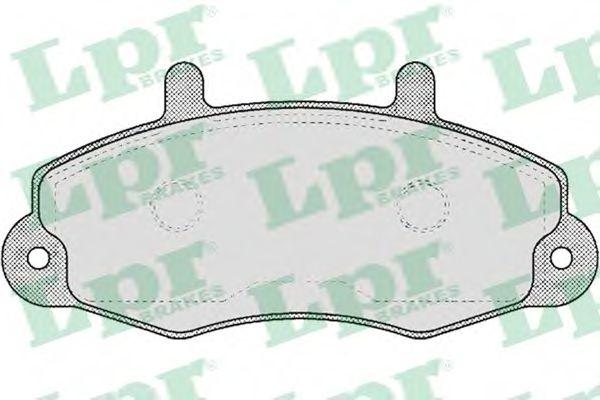 SF2685 Тормозные колодки  арт. 05P481
