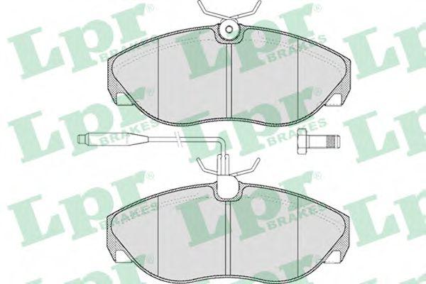 Тормозные колодки  арт. 05P493
