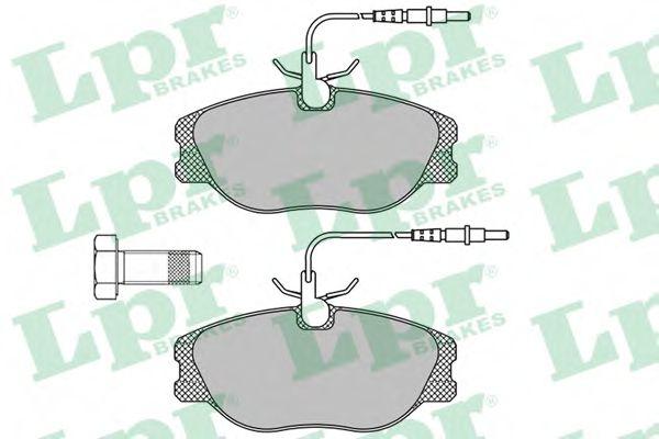 SF2822 Тормозные колодки  арт. 05P498