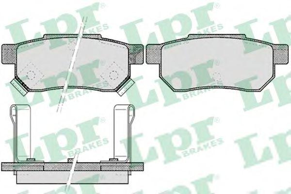 Комплект тормозных колодок, дисковый тормоз  арт. 05P506