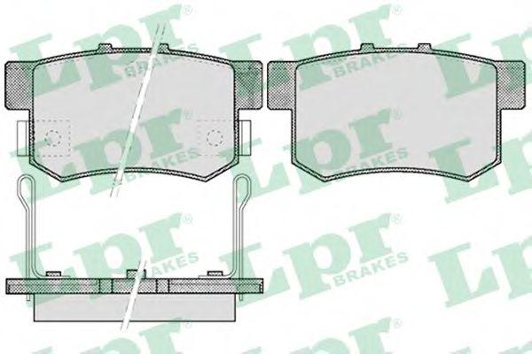 SF2804 Тормозные колодки  арт. 05P508