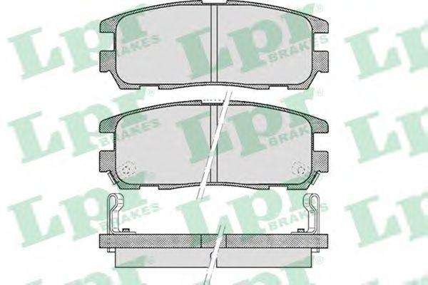 SF2802 Тормозные колодки  арт. 05P524