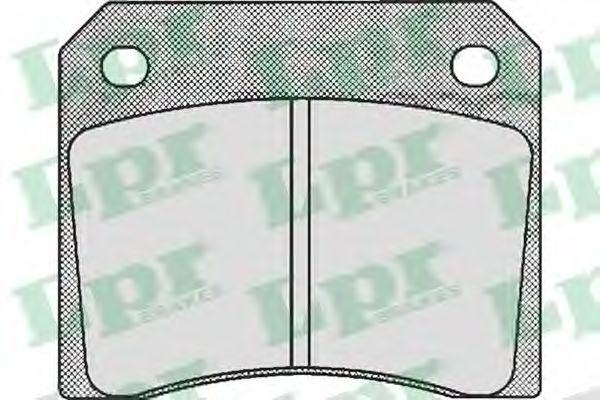 Тормозные колодки дисковые  арт. 05P530