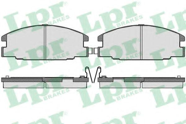 SF2472 Тормозные колодки  арт. 05P544