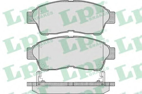 SF2024 Тормозные колодки LPR 05P561