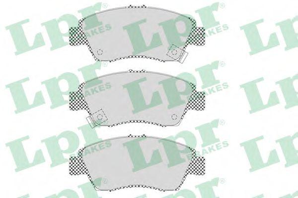 Тормозные колодки дисковые  арт. 05P564