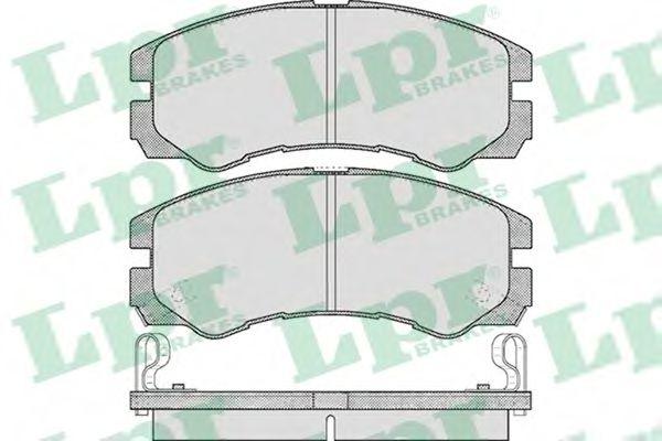 Тормозные колодки  арт. 05P565