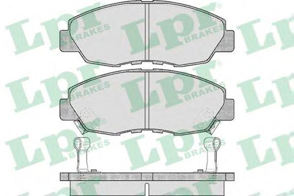 SF2671 Тормозные колодки  арт. 05P566
