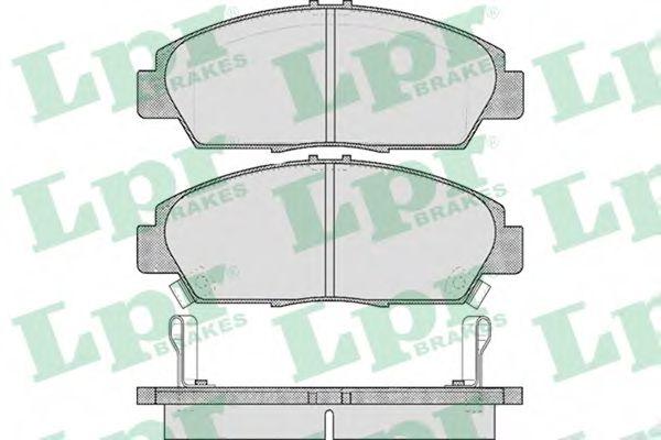 SF2747 Тормозные колодки  арт. 05P567