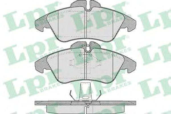Brake pad set LPR 05P608