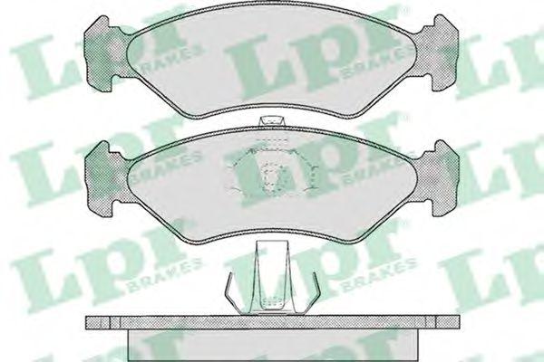 SF2482 Тормозные колодки  арт. 05P625