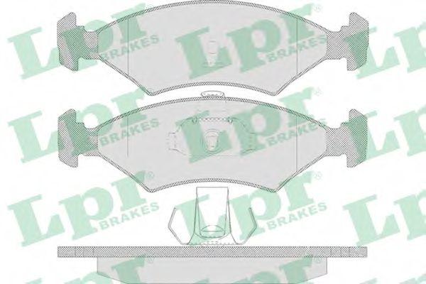 SF2301 Тормозные колодки LPR 05P628