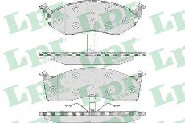 Тормозные колодки  арт. 05P629