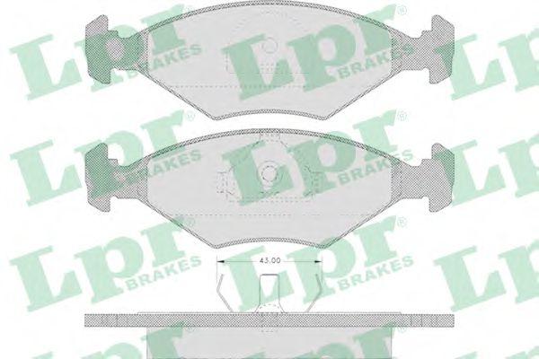 SF2723 Тормозные колодки  арт. 05P632
