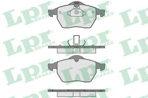 SF2820 Тормозные колодки  арт. 05P635