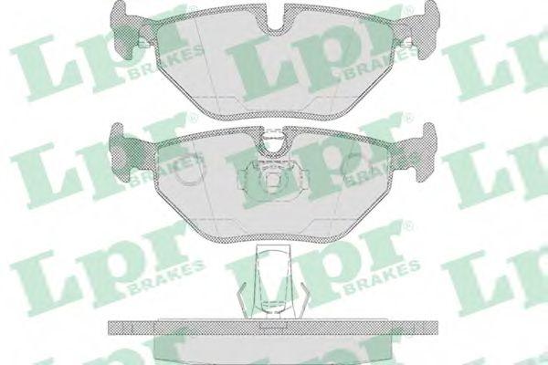 Тормозные колодки  арт. 05P650