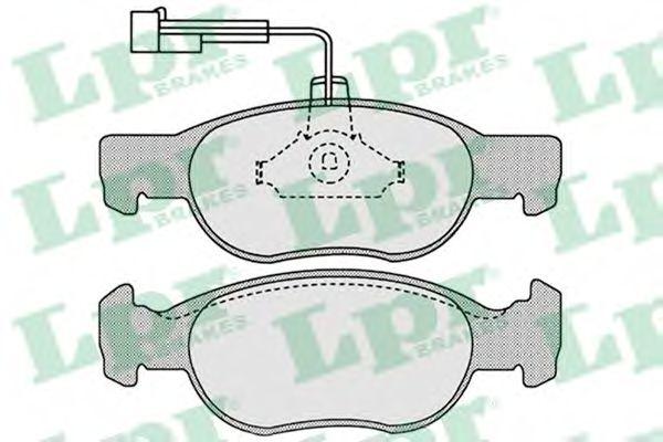 SF2752 Тормозные колодки  арт. 05P652