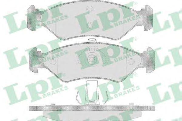 Комплект тормозных колодок, дисковый тормоз  арт. 05P655