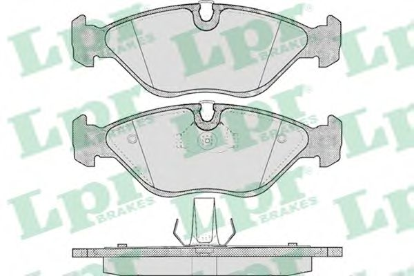 Brake pad set LPR 05P656