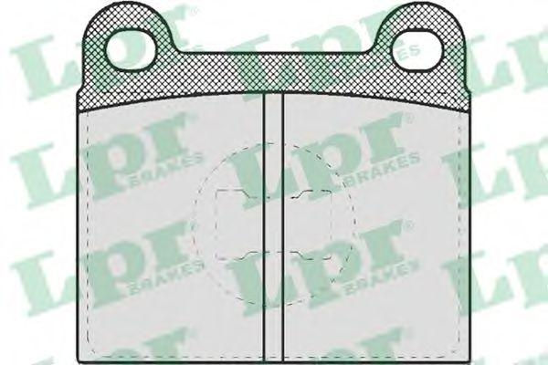 SF2219 Тормозные колодки LPR 05P659