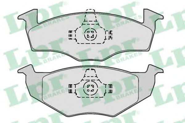 Brake pad set LPR 05P667